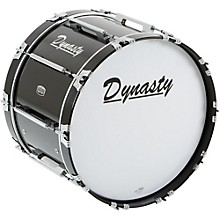 Dynasty Marching Bass Drum Black 22 x 14 in.