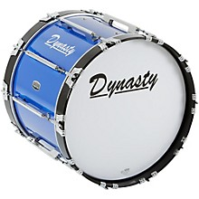 Dynasty Marching Bass Drum Blue 20 x 14 in.