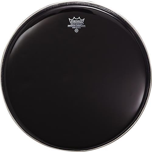 Remo Marching Batter Head Crimplock Emperor Ebony