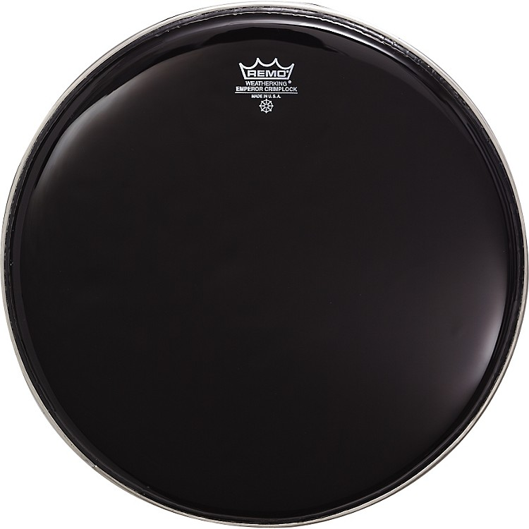 Remo Marching Emperor Ebony Drum Heads 12 Inch
