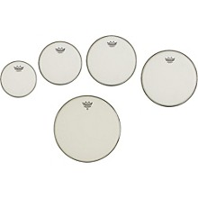 Remo Marching Suede Emperor Crimplock Pro Pack 6, 8, 12 & 13 in., Free 10 in. Suede Emperor Drum Head