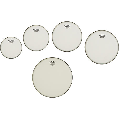 Remo Marching Suede Emperor Crimplock Pro Pack 6, 8, 12 & 13 in., Free 10 in. Suede Emperor Drum Head-thumbnail