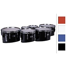 "Dynasty Marching Tenor Drums Quad White 8"",10"",12"",14"""