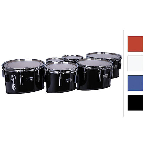 Dynasty Marching Tenor Drums Sextet 6/6/10/12/13/14