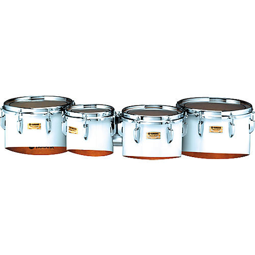 Yamaha Marching Tenors 8,10,12,13 Quad with Bi Posto Carrier