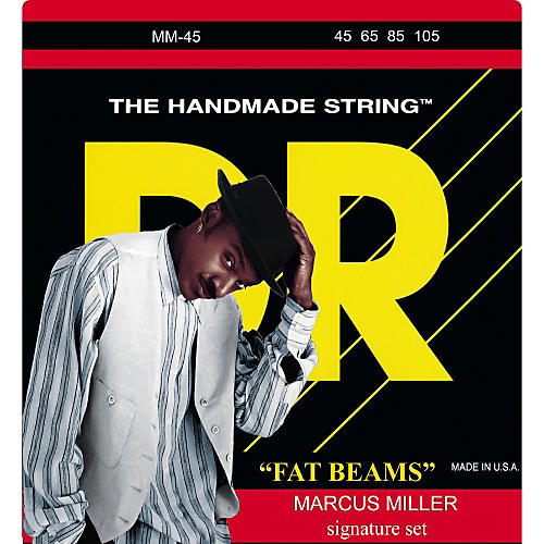 DR Strings Marcus Miller MM-45 Fat Beams Medium 4-String Bass Strings