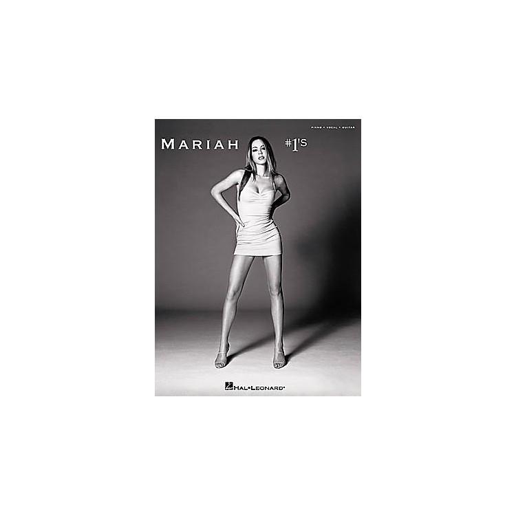 Hal LeonardMariah Carey - #1's Piano, Vocal, Guitar Songbook