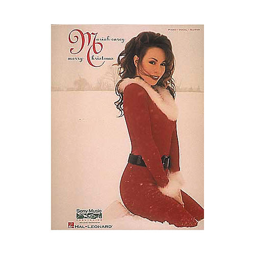 Hal Leonard Mariah Carey - Merry Christmas Piano, Vocal, Guitar Songbook