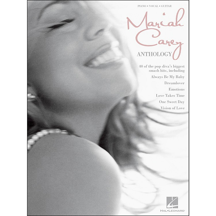Hal Leonard Mariah Carey Anthology arranged for piano, vocal, and guitar (P/V/G)