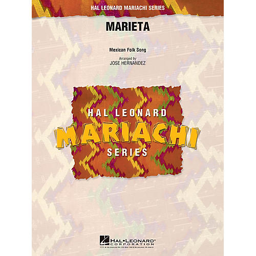 Hal Leonard Marieta Concert Band Level 3 Arranged by Jose Hernandez-thumbnail