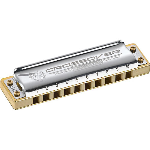 Hohner Marine Band Crossover Harmonica Low Tuned-High Tuned