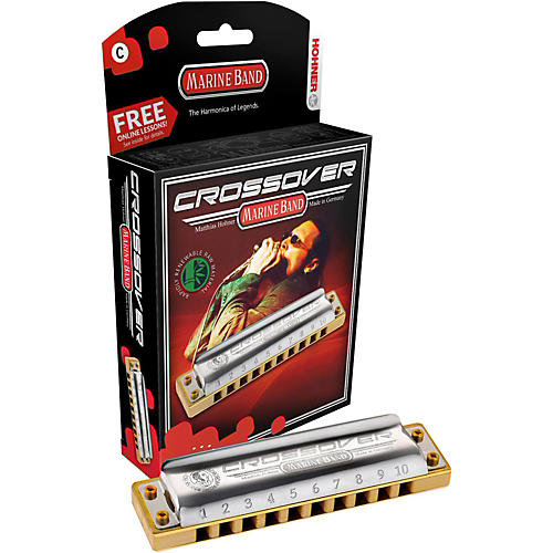 Hohner Marine Band Crossover Harmonica M2009 High G