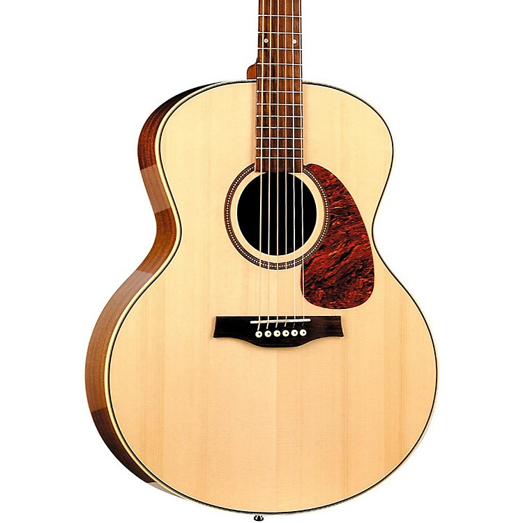 Seagull Maritime SWS Mini Jumbo High Gloss Acoustic Guitar Natural