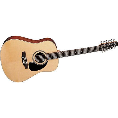 Seagull Maritime Spruce 12 Gloss Dreadnought 12-String Acoustic Guitar-thumbnail