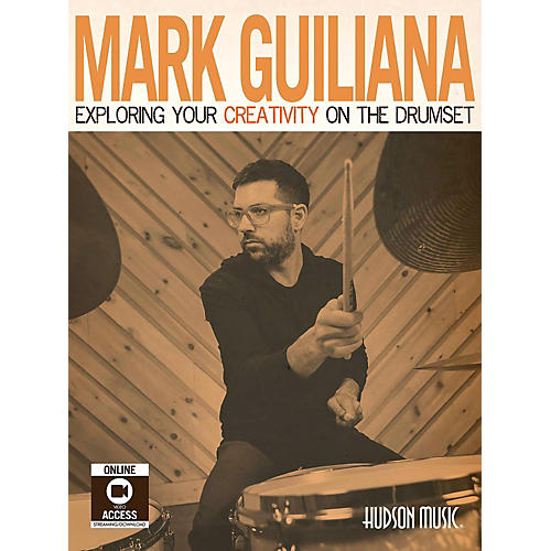 Hudson Music Mark Guiliana-Exploring Your Creativity on the Drumset Book/Video Access and DVD Included-thumbnail
