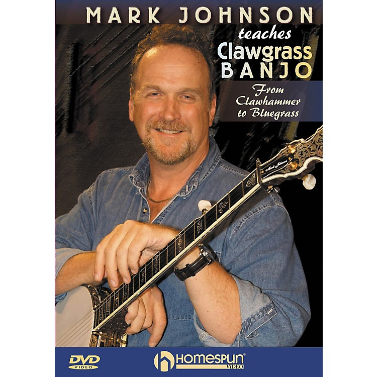 Homespun Mark Johnson Teaches Clawgrass Banjo (DVD)