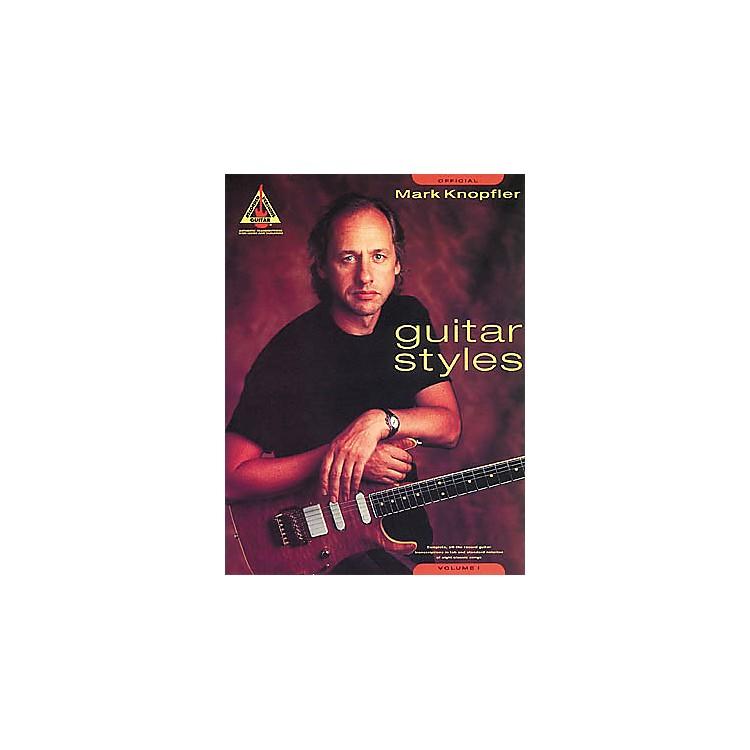 Hal LeonardMark Knopfler Guitar Styles Volume 1 Tab Songbook