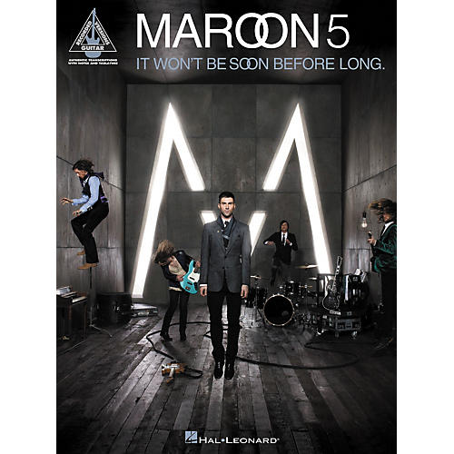 Hal Leonard Maroon 5 - It Won't Be Soon Before Long Guitar Tab Songbook-thumbnail
