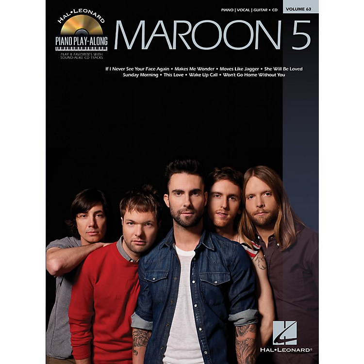 Hal Leonard Maroon 5 - Piano Play-Along Volume 63 Book/CD