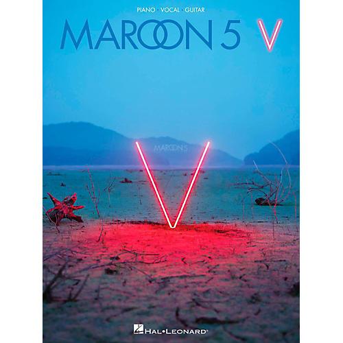 Hal Leonard Maroon 5 - V Piano/Vocal/Guitar Songbook