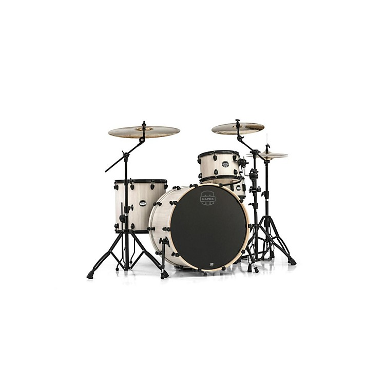 Mapex Mars Series 4-Piece Rock 24 Shell Pack Bonewood