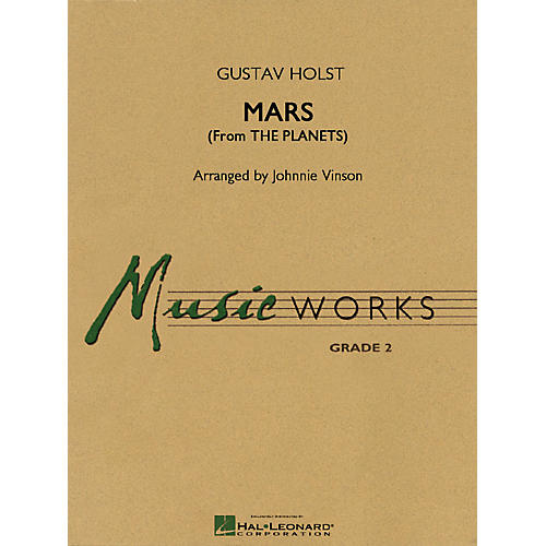 Hal Leonard Mars (from The Planets) Concert Band Level 2 Arranged by Johnnie Vinson-thumbnail
