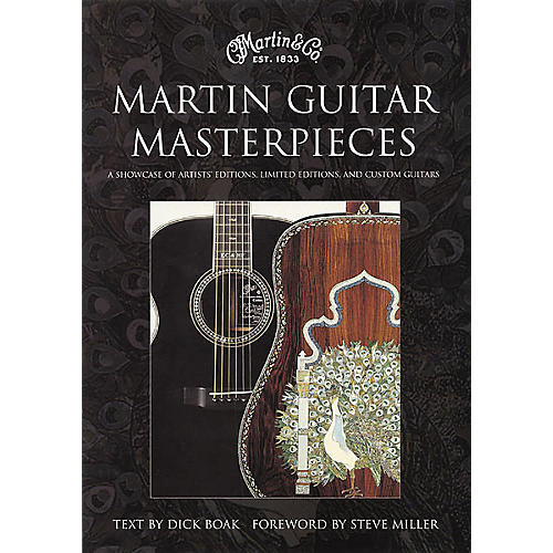 Bulfinch Press Martin Guitar Masterpieces Book