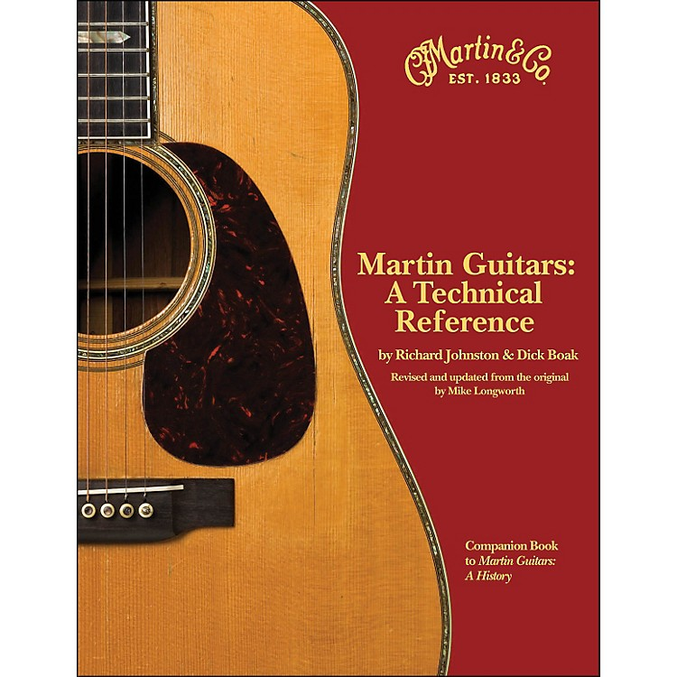 Hal Leonard Martin Guitars - A Technical Reference Book