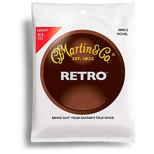 Martin Martin Retro Series Light Acoustic Guitar Strings