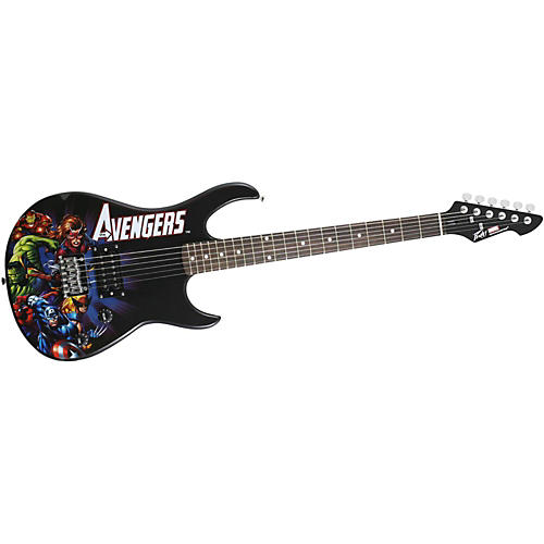 Peavey Marvel Avengers Rockmaster Electric Guitar-thumbnail