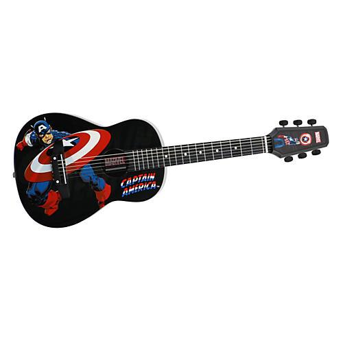 Peavey Marvel Captain America 1/2 Size Acoustic Guitar