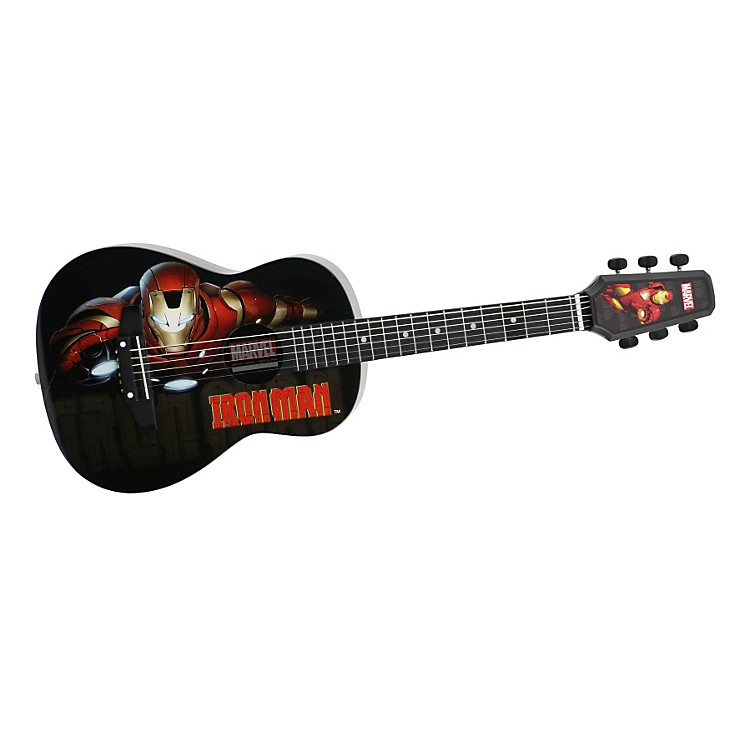 PeaveyMarvel Iron Man 1/2 Size Acoustic Guitar
