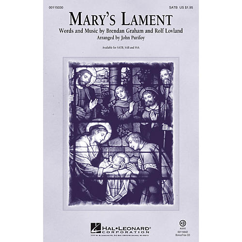 Hal Leonard Mary's Lament SATB arranged by John Purifoy-thumbnail