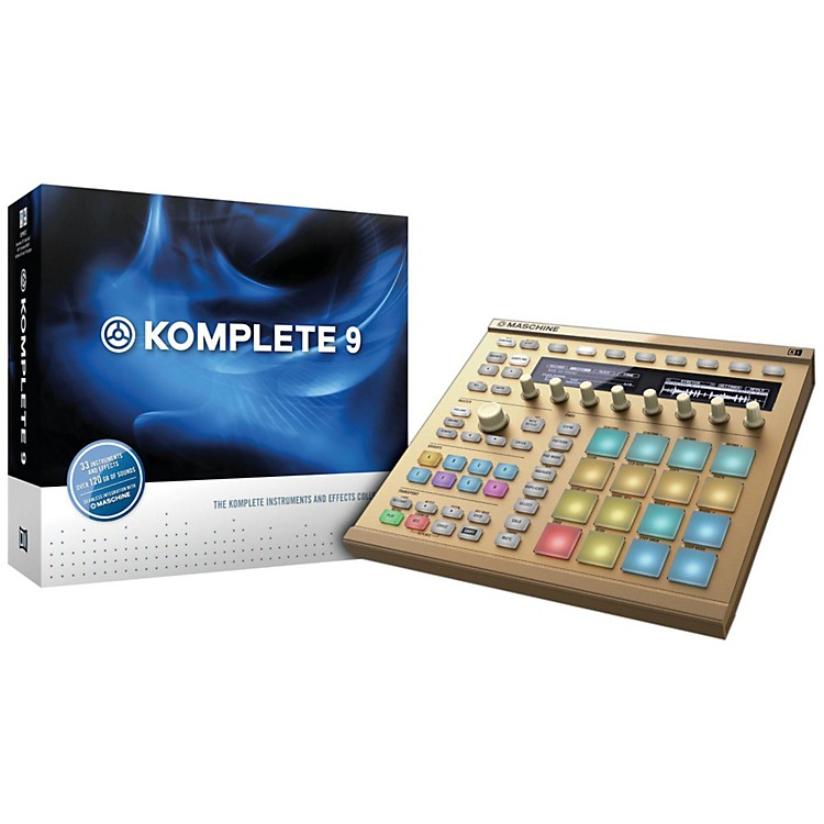 Native Instruments Maschine MK2 with Komplete 9 Crossgrade Package