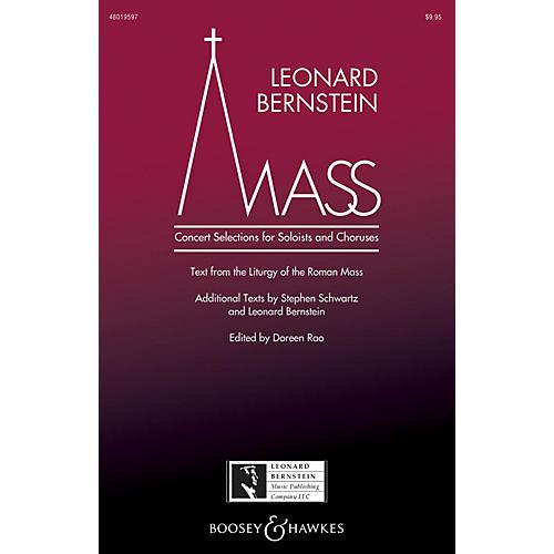 Leonard Bernstein Music Mass (Concert Selections for Soloists and Choruses) SATB Choir/Treble by Bernstein edited by Doreen Rao-thumbnail