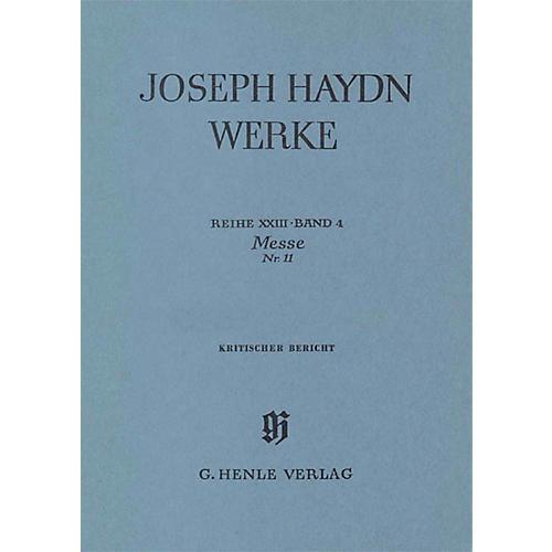 G. Henle Verlag Mass No. 11 (the Creation Mass) Henle Edition Series Hardcover-thumbnail