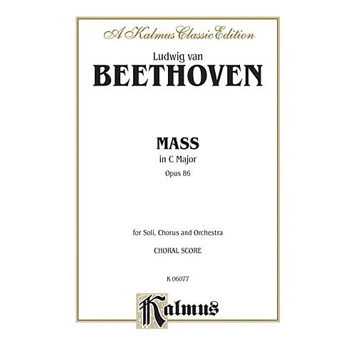 Alfred Mass in C Op. 86 SATB with SATB Soli Choir-thumbnail