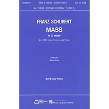 Edward B. Marks Music Company Mass in G Major SATB composed by Franz Schubert
