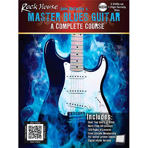 Hal Leonard Master Blues Guitar - A Complete Course Book/High Density DVD