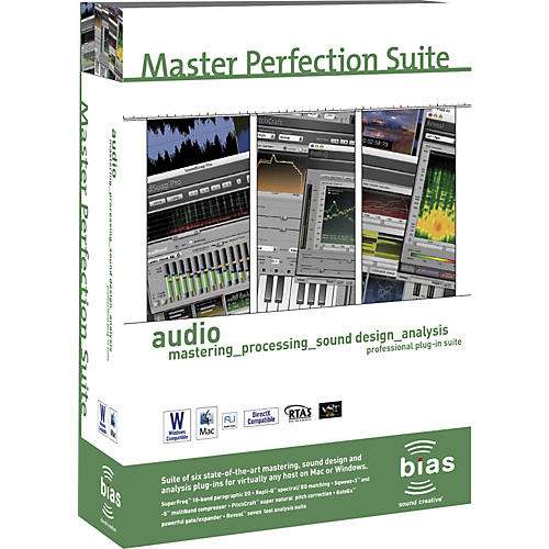 Bias Master Perfection Suite Audio Plug-in Collection-thumbnail