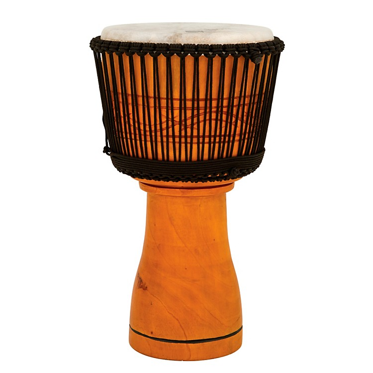 Toca Master Series Djembe with Padded Bag Natural Finish 13 Inch