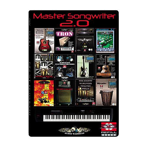AudioWarrior Master Songwriter 2 for Reason 4 Sample Workstation Refill