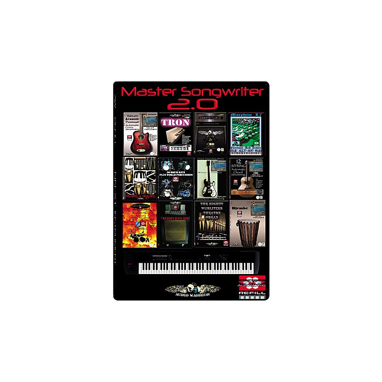 AudioWarrior Master Songwriter 2 for Reason 4 Sample Workstation Refill