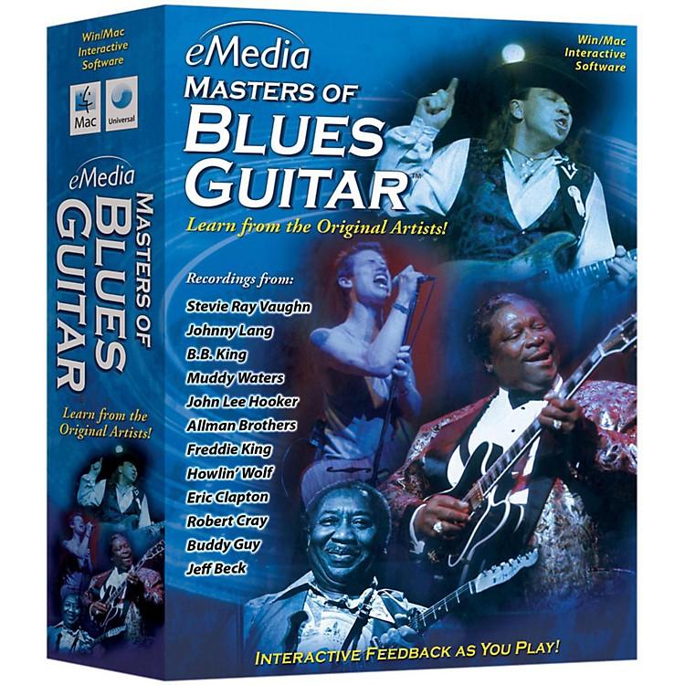 eMediaMaster of Blues Guitar CDROM