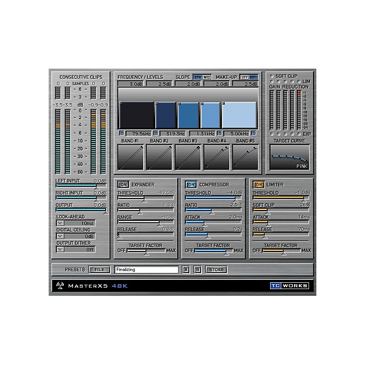 TC ElectronicMasterX5 Plug-In for PowerCore