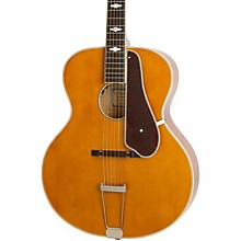 Masterbilt Century Collection De Luxe Archtop Acoustic-Electric Guitar Vintage Natural