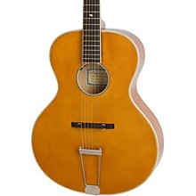 Epiphone Masterbilt Century Collection Zenith Archtop Acoustic-Electric Guitar Vintage Natural