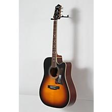 Epiphone Masterbilt DR-500MCE Acoustic-Electric Guitar Level 2 Vintage Sunburst 888366034149
