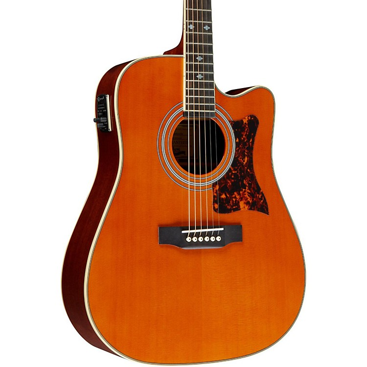Epiphone Masterbilt DR-500MCE Acoustic-Electric Guitar Natural