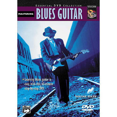 Alfred Mastering Blues Guitar (Book/DVD)